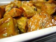 Roasted Sweet Potatoes https://onegirlstasteonlife.wordpress.com/2010/11/26/roasted-sweet-potatoes/