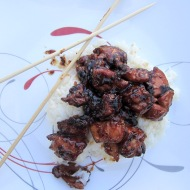 General Tso's Chicken https://onegirlstasteonlife.wordpress.com/2012/07/13/take-out-fake-out/