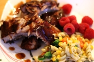 Oven Ribs https://onegirlstasteonlife.wordpress.com/2014/01/29/a-little-slice-of-summer/