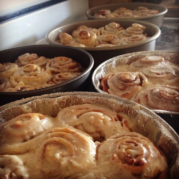 PW's Cinnamon Rolls with Coffee Icing https://onegirlstasteonlife.wordpress.com/2015/01/06/pioneer-womanss-cinnamon-rolls-with-coffee-icing/